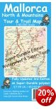 Mallorca North & Mountains Tour & Trail Map