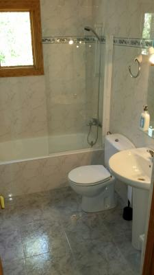 Full bathroom and separate shower room