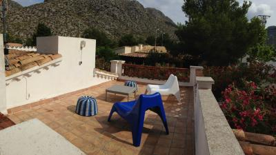 roof terrace and stunning views of the Cap Formentor