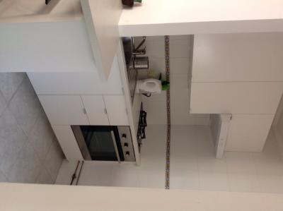 Kitchen with fan oven & gas hob